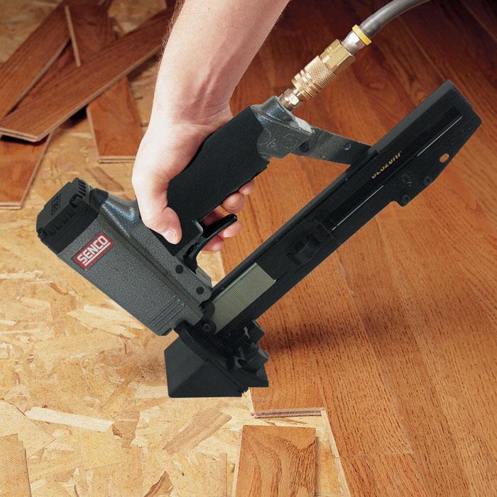 Hardwood Floor Nail Gun porta nailer flooring nailer used for installing tg solid wood flooring Best Flooring Nailer Reviews And Ing Of 2017